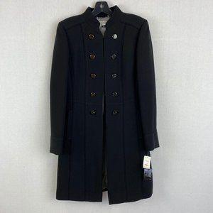 TAHARI Long Black Coat NWT